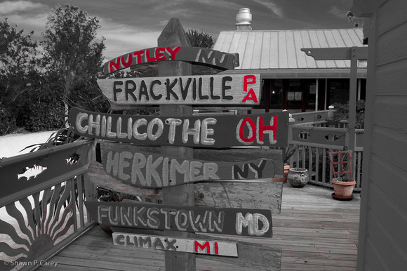 Which way to Frackville?